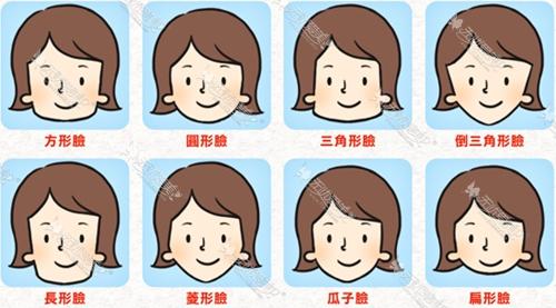 脸型的分类