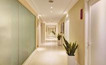 郑州美莱整形医院走廊