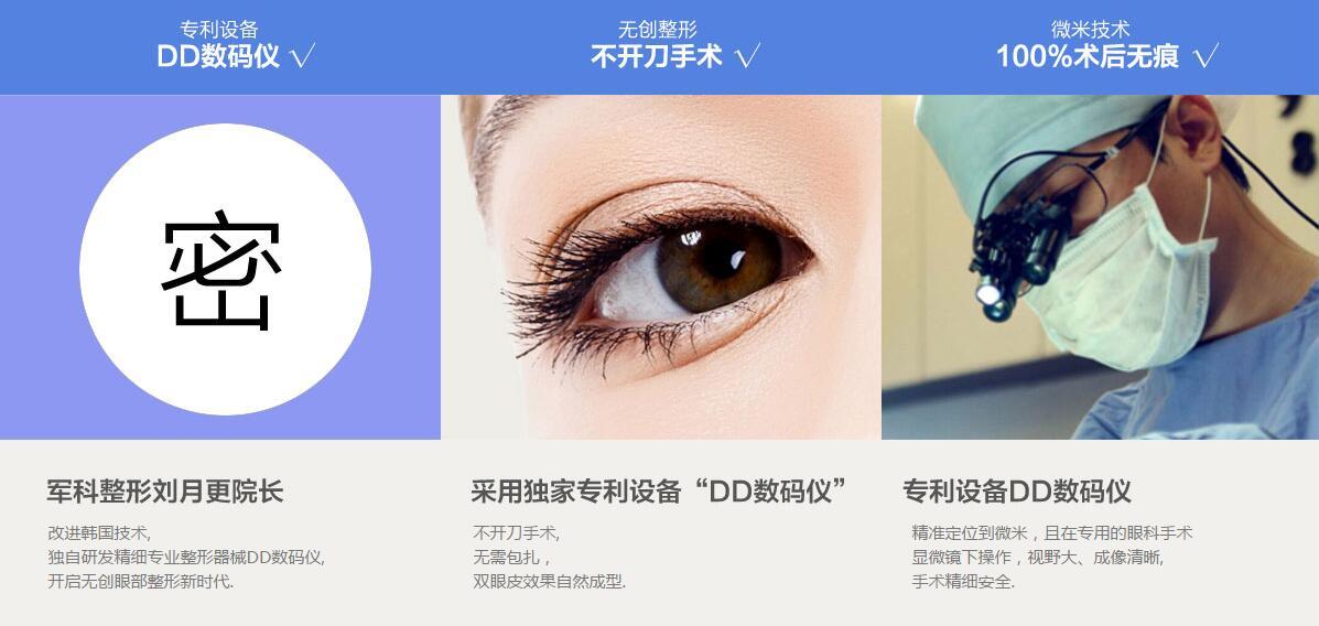 深圳军科DD数码双眼皮