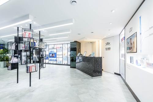 韩国首尔丽格皮肤科药妆区