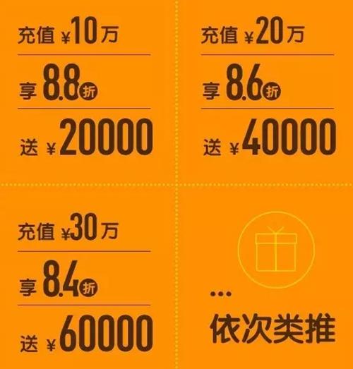 上海华美国庆充值礼