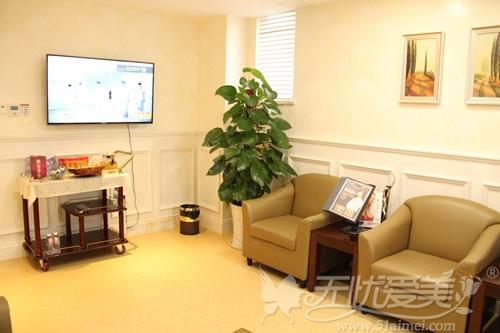 南宁梦想整形二层休息室