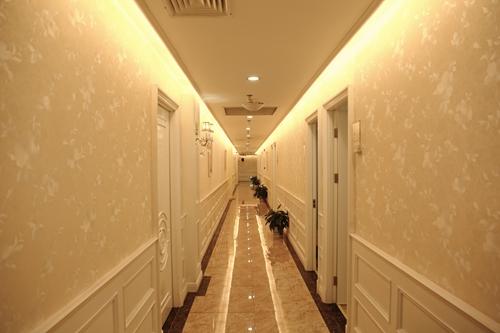 长沙华韩华美整形医院走廊