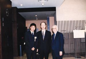 陈清院长师从第25届日本美容外科学会会长高柳进先生
