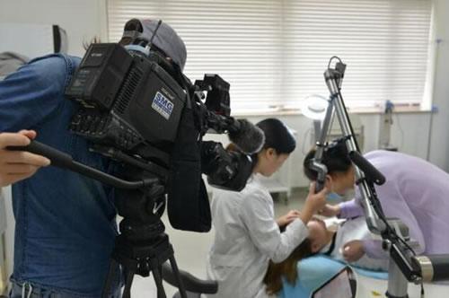 东方卫视采访拍摄首尔丽格