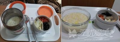 姜蓓蓓隆胸手术后饮食