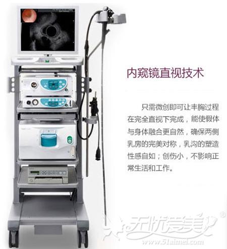 柳州华美内窥镜假体隆胸技术