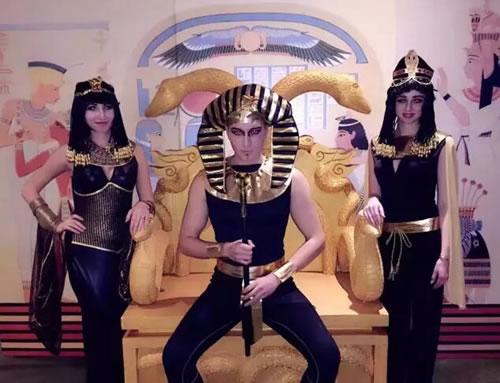 郑州集美客户答谢晚会埃及法老