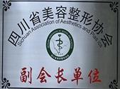四川省美容整形协会副会长单位