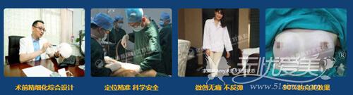 石冰博士二十多年临床经验,手术特色突出