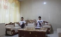 呼和浩特市第一医院等候区