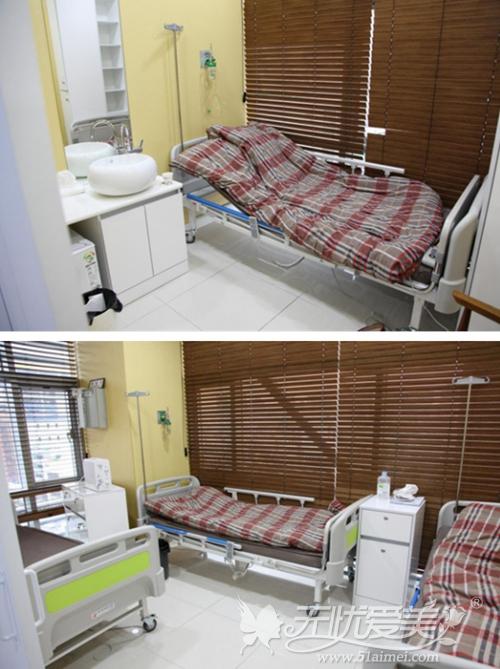 韩国美之爱整形外科7楼住院室