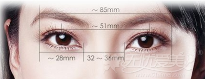 漳州美博士精微双眼皮手术遵循美学标准