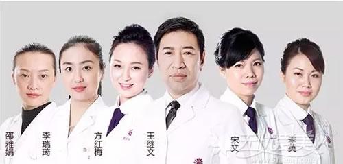 祛斑专家王继文领衔激光美容骨干医生团