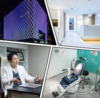 韩国首尔丽格皮肤医院环境