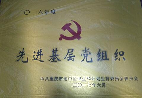 """重庆华美荣获""""先进基层党组织""""表彰"""