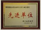 四川省民办非企业单位自律与诚信建设先进单位