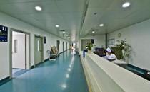 武汉大学人民医院走廊