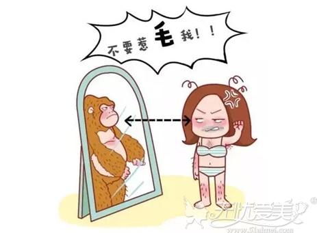 多毛容易让人烦躁