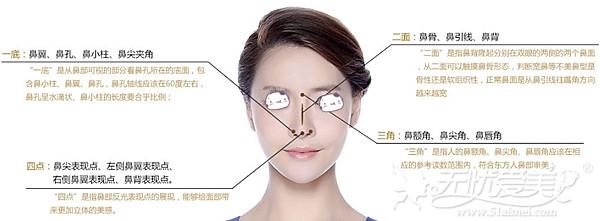 北京丽都鼻综合手术遵循的美学标准