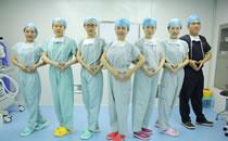手术室护士与麻醉师合影