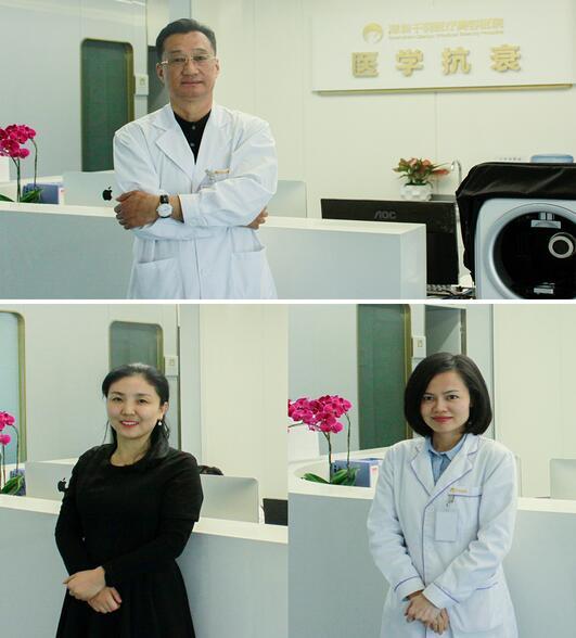 深圳千羽李荣院长率领部分员工,亲自体验PRP美容项目,为大家揭开PRP的神秘真容