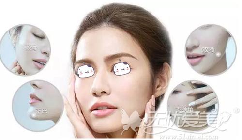 上海首尔丽格颌面整形部位