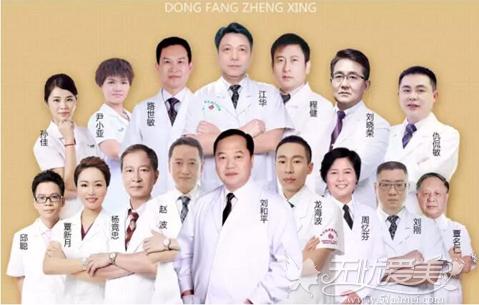 南宁东方整形专家团队