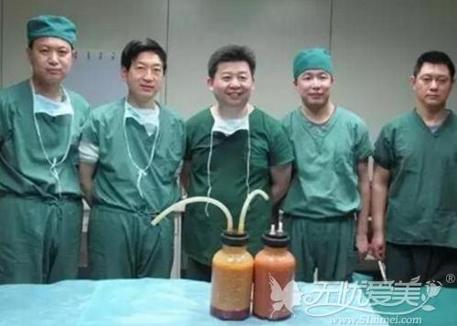 王志军教授吸脂手术