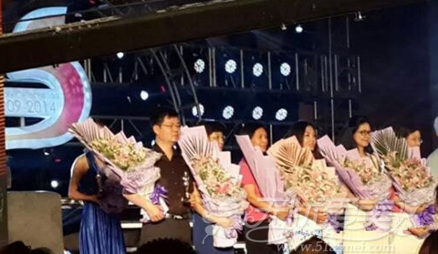詹领院长被评为中国医疗美容十大杰出院长