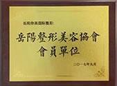 岳阳整形美容协会会员单位