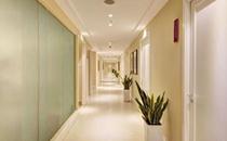 南京侨台整形医院走廊