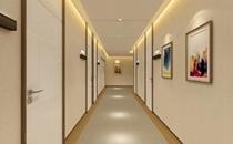 长沙脸博士整形医院走廊