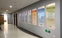 福州海峡整形医院2楼走廊