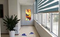 福州海峡整形医院3楼走廊
