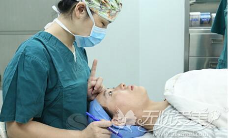 广州曙光护士做双眼皮手术过程