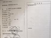 吉首希美资质证书