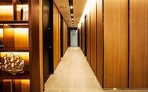 韩国劳波儿整形医院走廊