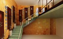 广元医而美医疗美容二楼楼梯