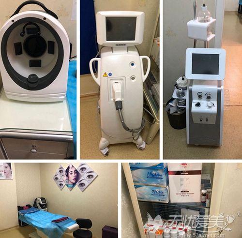 北京禾美嘉医疗美容诊所激光室