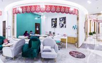武汉华美光谷旗舰店二楼茶水区