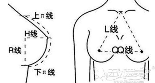 合肥华美假体隆胸手术美学参考