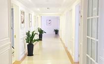 合肥白领安琪儿美容科室走廊