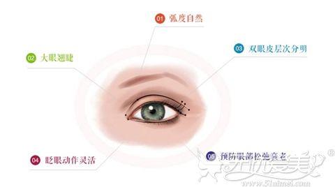 广州博仕仿生理双眼皮