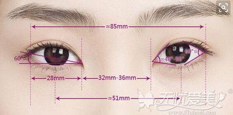 一双美丽的眼睛标准