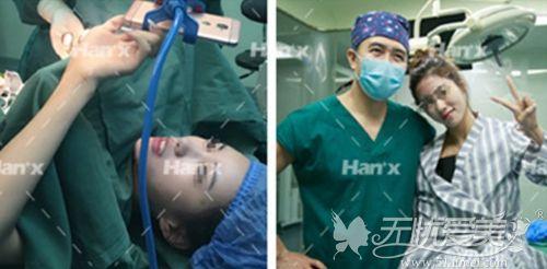 北京韩啸棉花糖隆胸手术过程