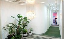 韩国欧若拉整形医院走廊