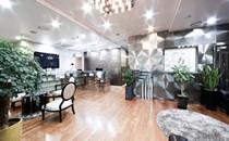 韩国美作整形医院休息区