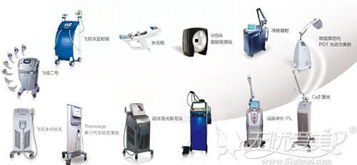 各种激光设备