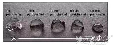 不同分子玻尿酸的支撑性